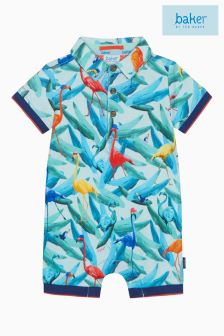 baker by Ted Baker Turquoise Ice Lolly Print Romper