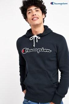 Bluza z kapturem i logo Champion