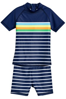 Stripe Sunsafe Suit (3mths-6yrs)