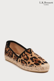 L.K. Bennett Animal Elsie Flat Shoe
