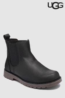Черные детские ботинки челси UGG® Callum