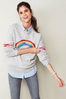 Pullover mit freier Schulter
