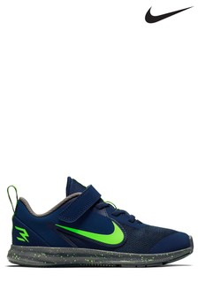 Nike Run Blue/Volt Downshifter 9 Trainers