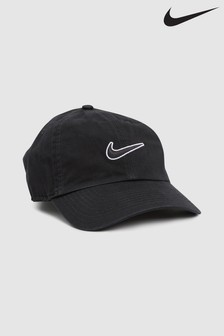 Nike Adult Black Essential Swoosh Cap