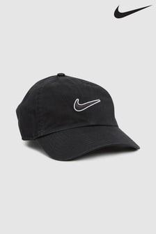 Nike Black Essential Swoosh Cap