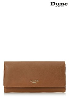 Dune Accessories Tan Internal Panelled Detail Purse