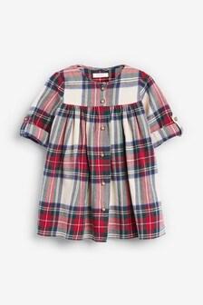 Button Through Dress (3mths-7yrs)