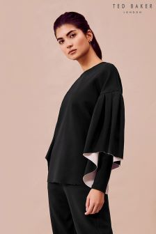 Ted Baker Ted Says Relax Black Full Sleeve Sweater