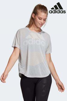 adidas Grey Magic Logo Tee