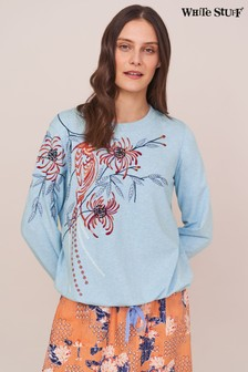White Stuff Denim Sally Sweater