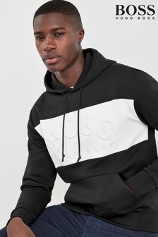 BOSS Sly Pull Over Logo Hoody