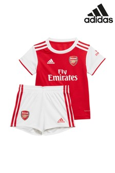 adidas Baby Arsenal Red Home 19/20 Mini Kit