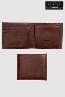 Signature Black Label Bifold Leather Wallet