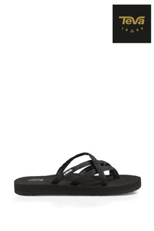 Teva® Black Olowahu Sandals