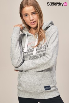 Superdry Stone Vintage Over Head Hoody