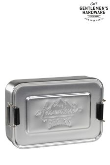 Gentleman's Hardware Aluminium Lunch Tin