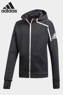 adidas Black Z.N.E. 3 Full Zip Hoodie