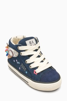 Rocket High Top Trainers (Younger)