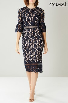 Coast Blue Maria Lace Shift Dress