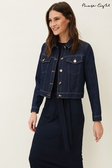 Phase Eight Blue Caitlin Denim Jacket