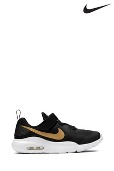 Nike Black/Gold Air Max Oketo Junior Trainers
