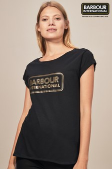 Barbour® International Aragan Black Tee