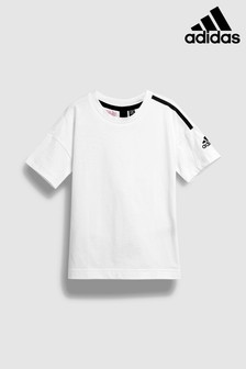 adidas White Z.N.E Tee