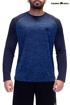 Raging Bull Blue Performance Long Sleeve T-Shirt
