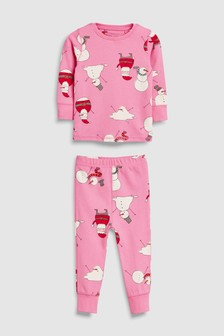 Snowman Snuggle Pyjamas (9mths-12yrs)