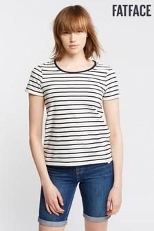 FatFace Organic Cotton Short Sleeve Breton Tee