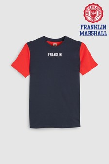 Franklin & Marshall Yoke T-Shirt
