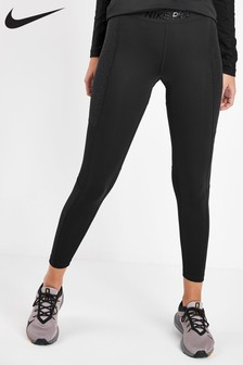 Nike Pro Black Warm Hollywood Leggings