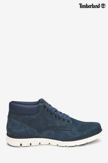 Timberland® Navy Bradstreet Leather Chukka Boots