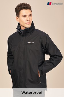 Berghaus Jet Black Alpha Waterproof Jacket