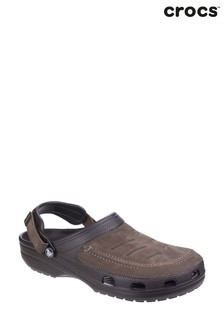 Crocs Brown Yukon Vista Clogs