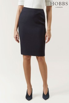 Hobbs Blue Kora Skirt