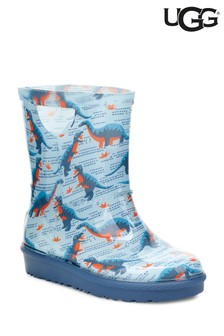 UGG® Rahjee Blue Desert Dino Welly