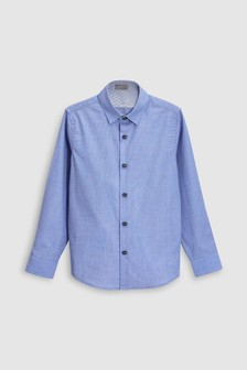 Long Sleeve Smart Shirt (3-16yrs)