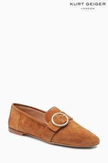 Kurt Geiger London Tan Suede Kenner 2 Loafer