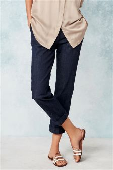 Tailored Capri Jeans