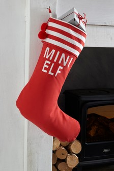 family elf stocking - Christmas Decorations For Stockings