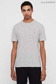 AllSaints White Stripe Tonic T-Shirt