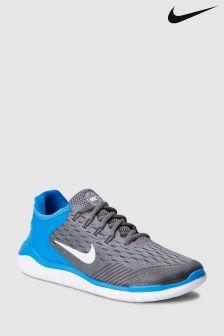 Nike Run Grey/Blue Free Run