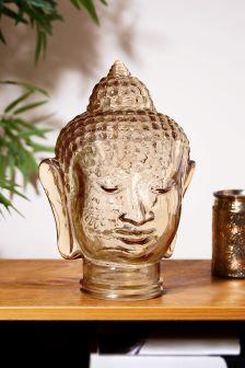 Glass Buddha Head