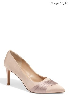 Phase Eight Brown Kendal Knot Front Pointed Court Shoe