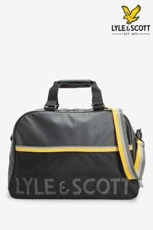 Lyle & Scott Black Weekend Bag