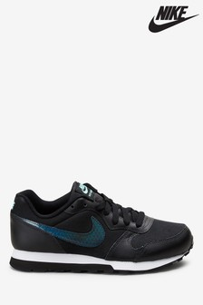 Nike Black MD Runner Youth Trainers