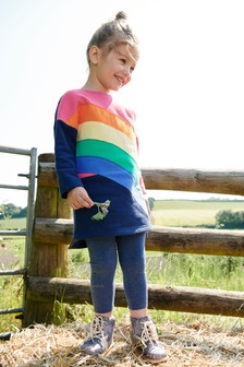 Rainbow Dress And Legging Set (3mths-6yrs)