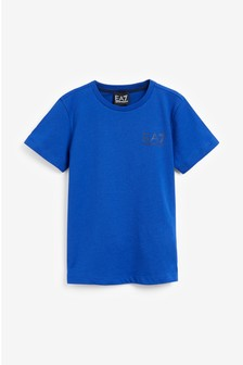EA7 Blue Logo T-Shirt
