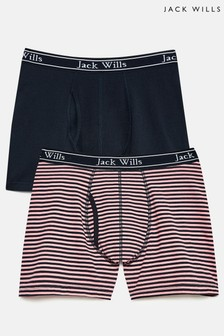 Jack Wills Chetwood Classic Tipped Boxers Set